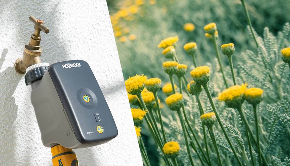 Hozelock Cloud Controller- A smart device for garden